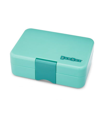 yumbox mini snack - surf green