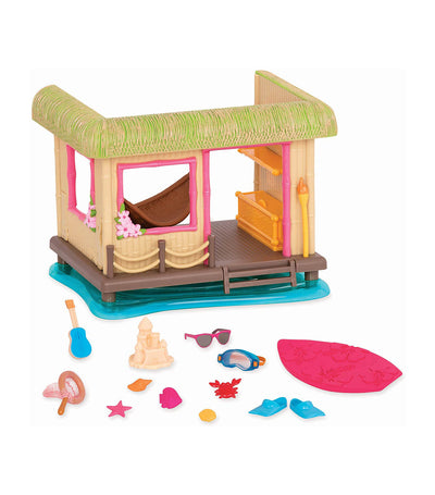 li'l woodzeez tiki hut playset
