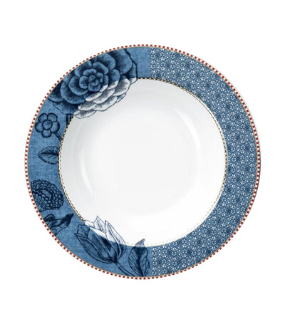 Pip Studio Spring to Life Soup Plate - Blue