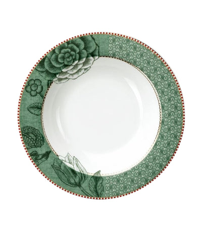 Pip Studio Spring to Life Soup Plate - Green