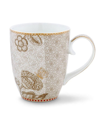 Spring to Life Large Mug - Off White