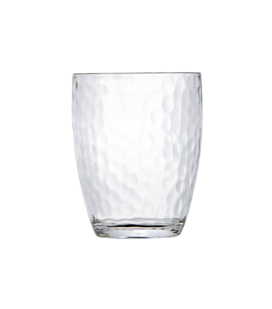 Marine Business Hammered Water Glass Set of 6 - Ice