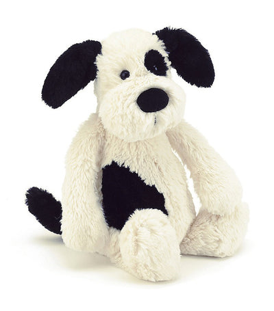 jellycat bashful black and cream 12""