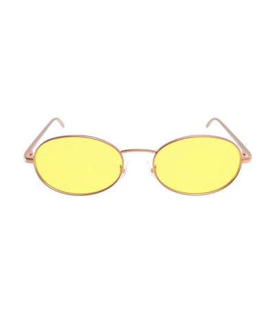 privé revaux the candy rose gold with yellow lenses