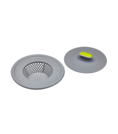 KitchenCraft 2-in-1 Plug and Sink Strainer