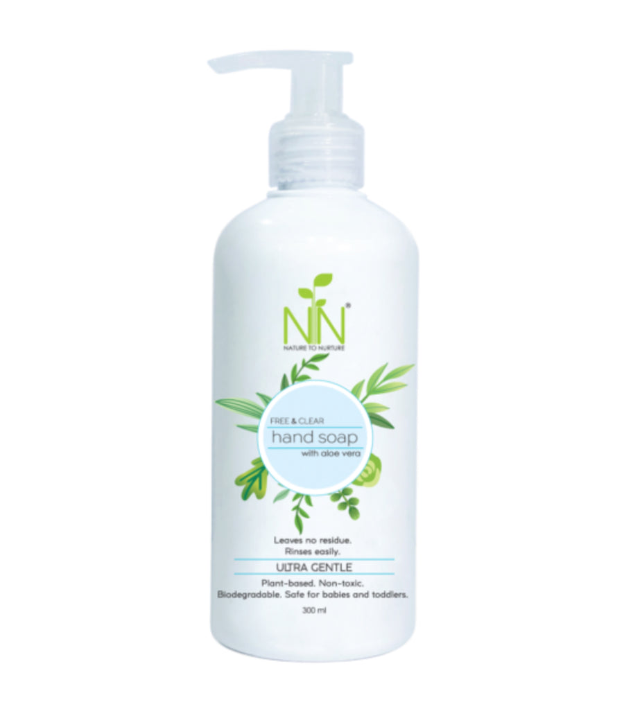 nature to nurture hand soap with aloe vera 300ml