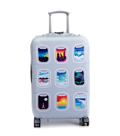 Above the Clouds Luggage Cover Large