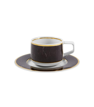 Carrara Cup and Saucer Set