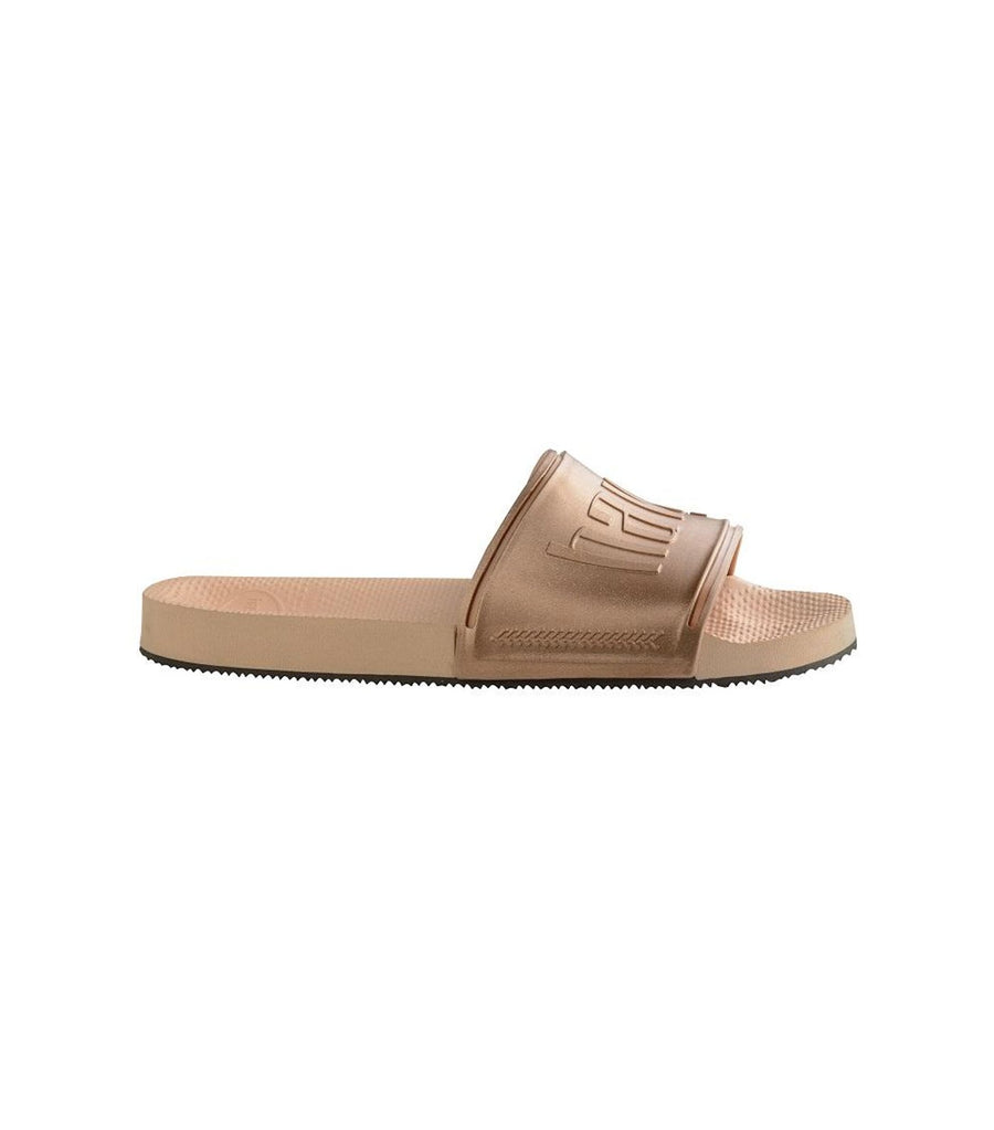 Havaianas Slides - Nude/Golden Blush Metallic