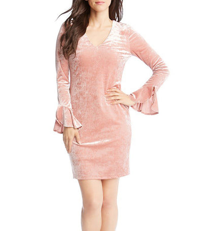 karen kane crush dress - pink