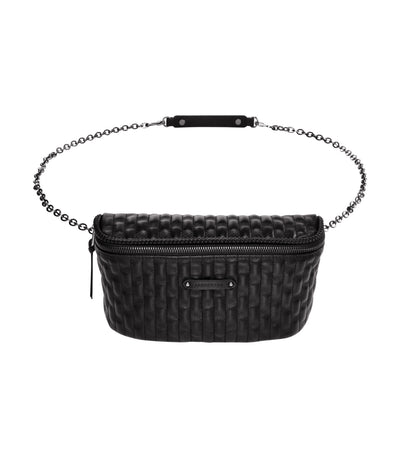 Amazone Matelassé Belt Bag Black