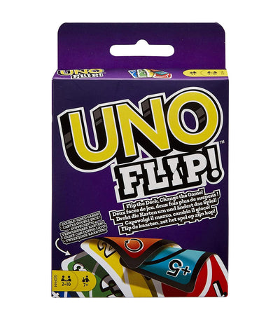 mattel games uno flip card