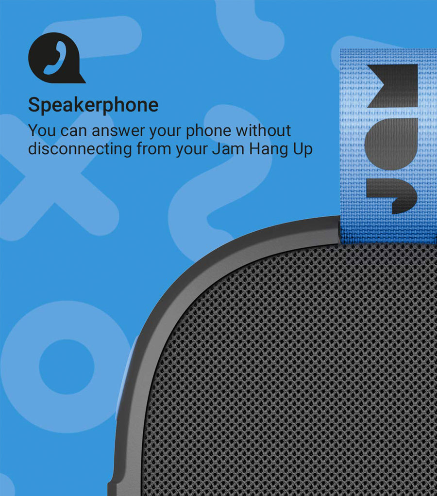 Hang Up Bluetooth® Speaker Black