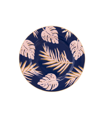 Cristina Re Paradise Palms Blue Lagoon Side Plate