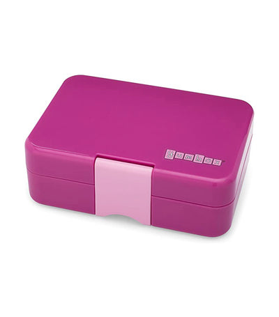 yumbox bijoux purple minisnack snack box