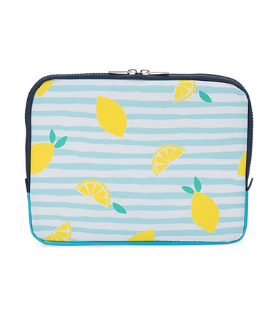 yumbox poche insulated sleeve lunch bag - amalfi lemons