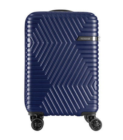 american tourister ellen spinner 55 tsa oxford blue