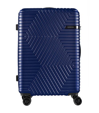 american tourister ellen spinner 68 tsa oxford blue