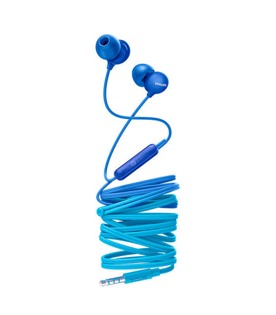 UpBeat In-Ear Headphones with Mic Marine Blue