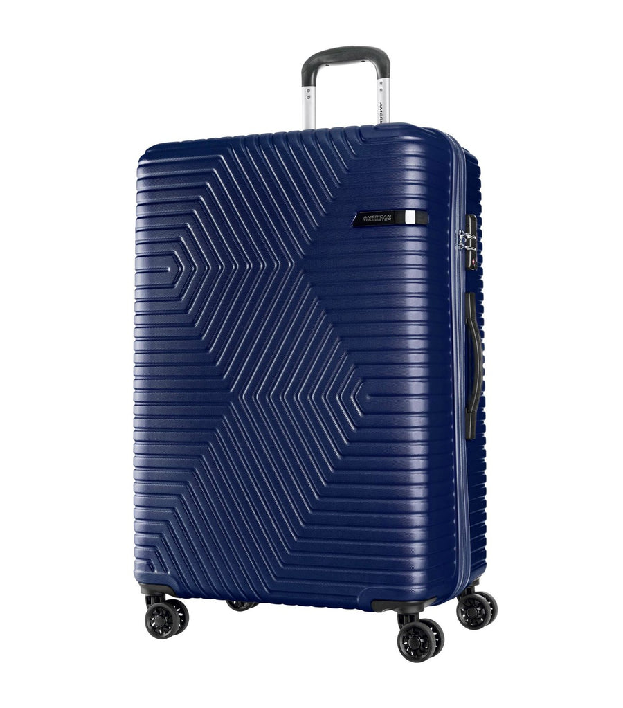 american tourister ellen spinner 79 tsa oxford blue