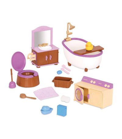 li'l woodzeez bathroom & laundry set