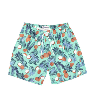 Trunks Surf & Swim Co. Swim Shorts - Coconut Palm