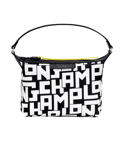 Le Pliage LGP Clutch Black and White