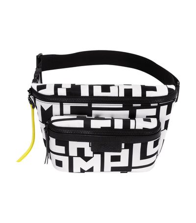Le Pliage LGP Belt Bag L Black and White