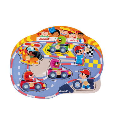 janod happy racing puzzle