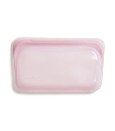 Stasher Reusable Silicone Snack Bag - Rose Quartz