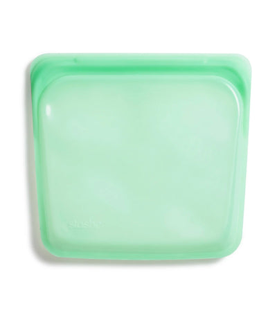 Stasher Reusable Silicone Sandwich Bag - Mint