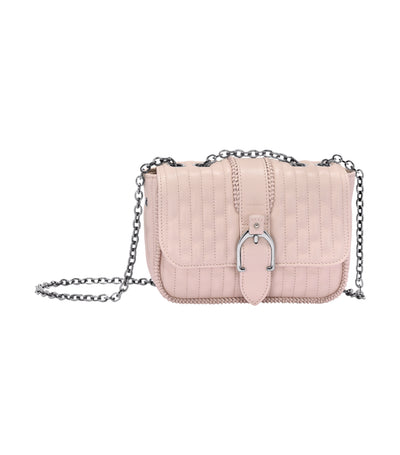 Amazone Matelassé Shoulder Bag XS Pale Pink