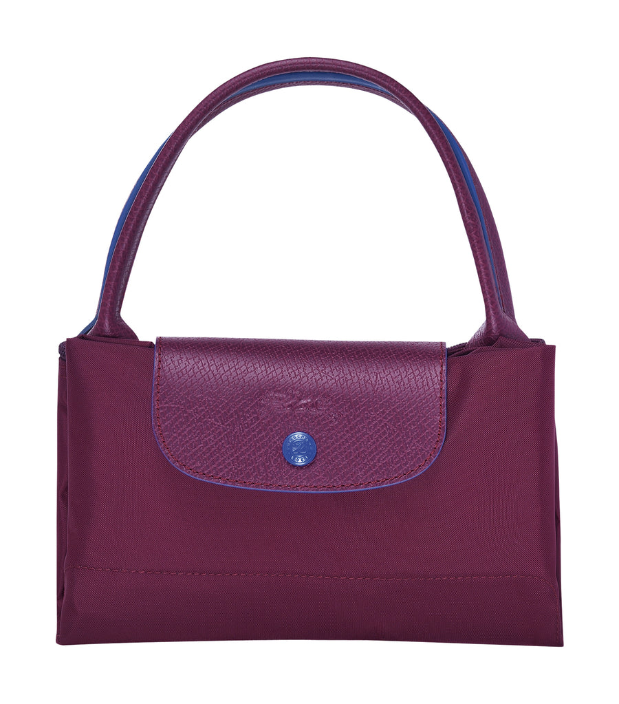 Le Pliage Club Top-Handle M Plum