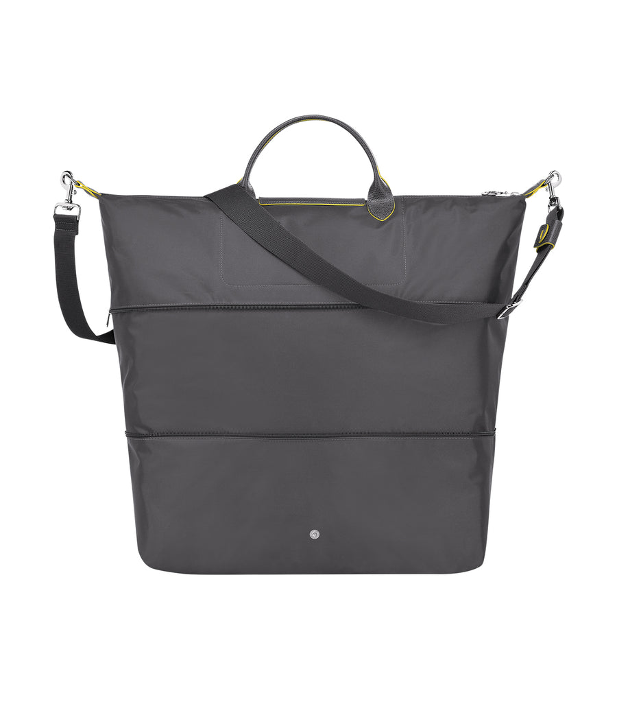 Le Pliage Club Expandable Travel Bag Gun Metal