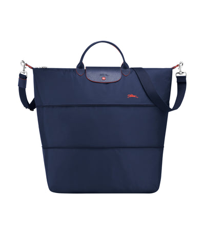 Le Pliage Club Expandable Travel Bag Navy