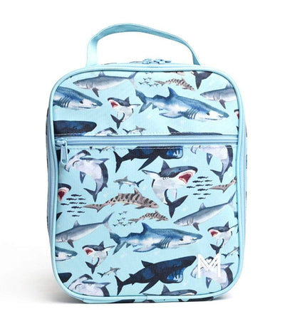 montii co insulated lunch bag - shark