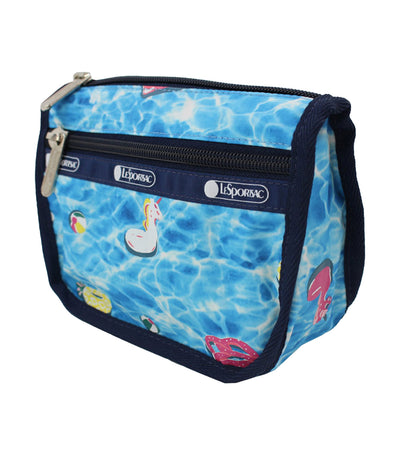 Pool Party Travel Cosmetic Pouch