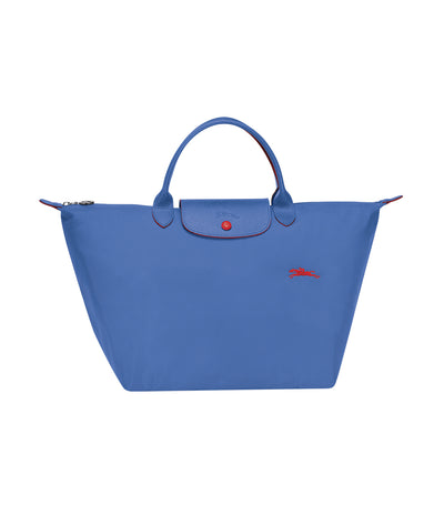 Le Pliage Club Top-Handle Bag M Myosotis