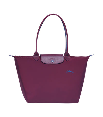 Le Pliage Club Shoulder Bag L Plum