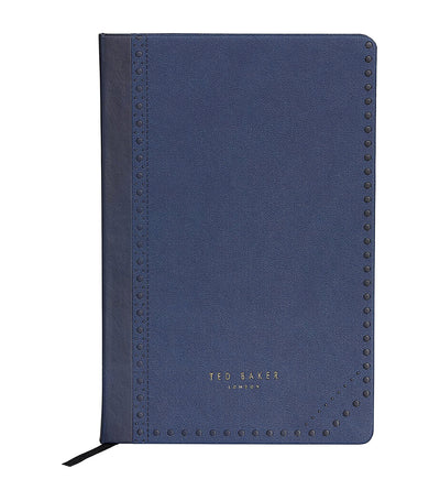 Ted Baker A5 Notebook Brogue Monkian Blue