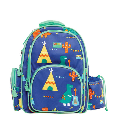penny scallan backpack large - dino rock
