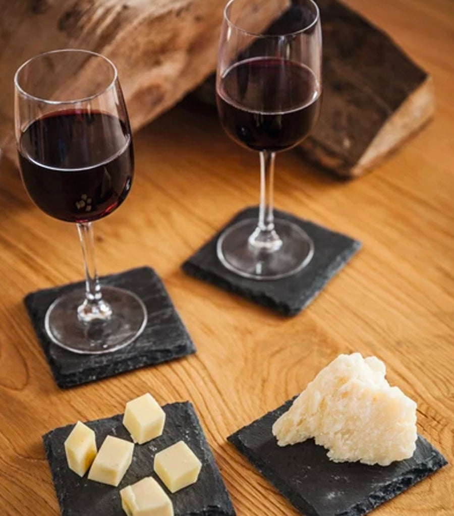 Boska 4-Piece Coaster Slate Set