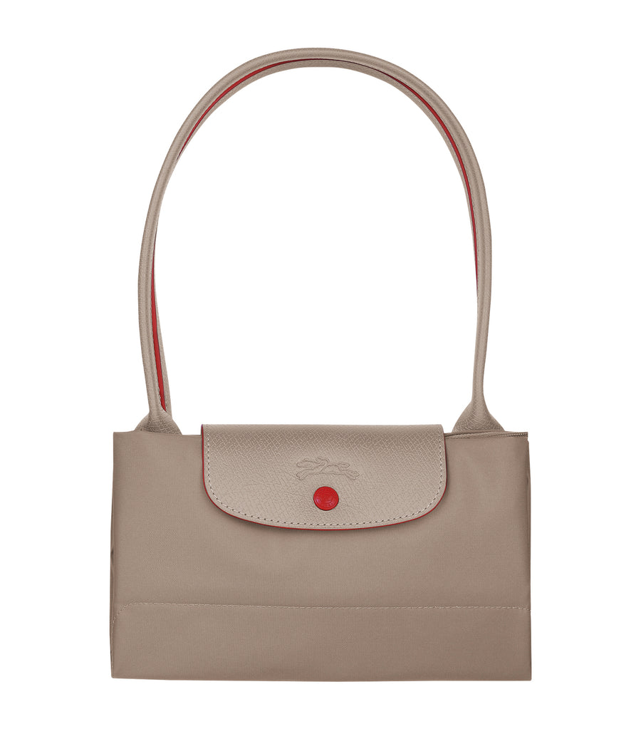 Le Pliage Club Shoulder Bag L Brown