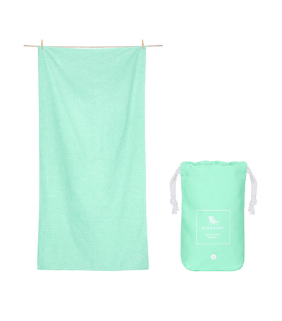 Dock & Bay Eco Active Towel - Rainforest Green