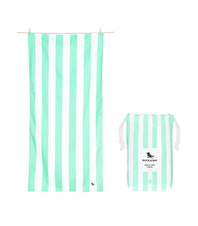 Dock & Bay Cabana Quick Dry Towel - Narabeen Green