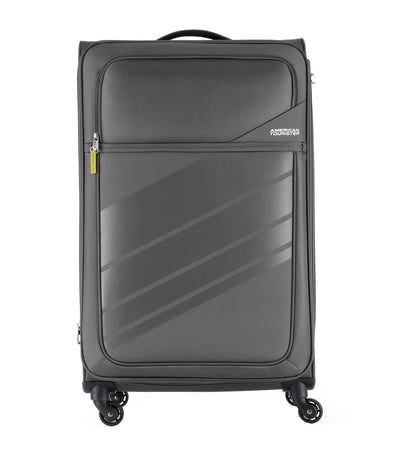 american tourister stirling spinner 79/29 expandable tsa dark gray