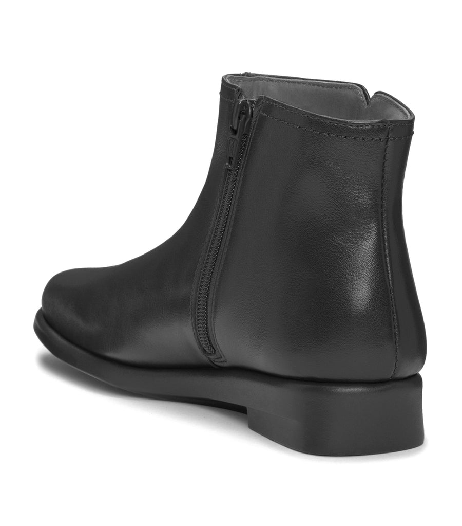 Double Trouble Ankle Boots Black