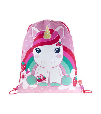 candy cloud bubblegum drawstring bag