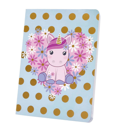 candy cloud daisy small notebook