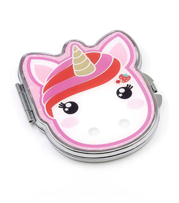 candy cloud bella metal compact mirror